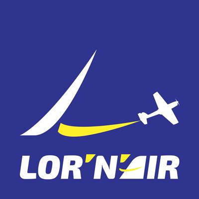Lornair logo cours pilotage avion Lorraine