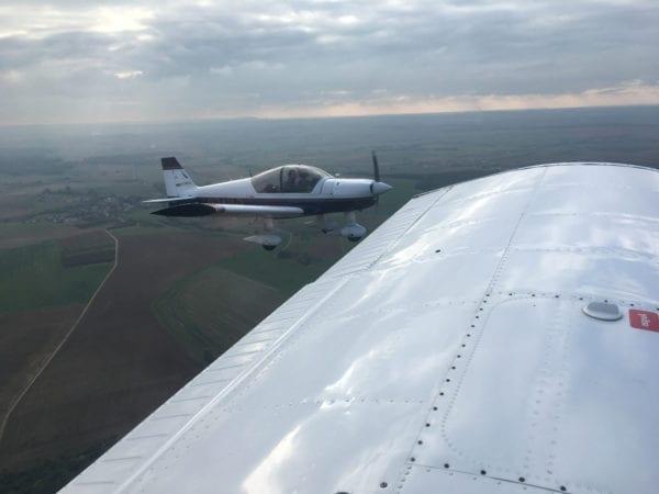piloter avion biplace robin alpha 120 lorraine nancy