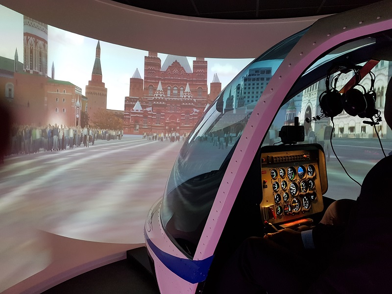 simulateur vol helicoptere bell pilote lorraine metz